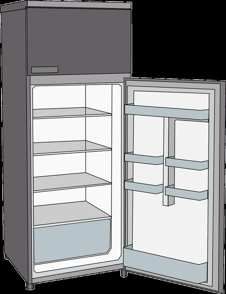 Cartoon drawing clip art. Refrigerator clipart refridgerator
