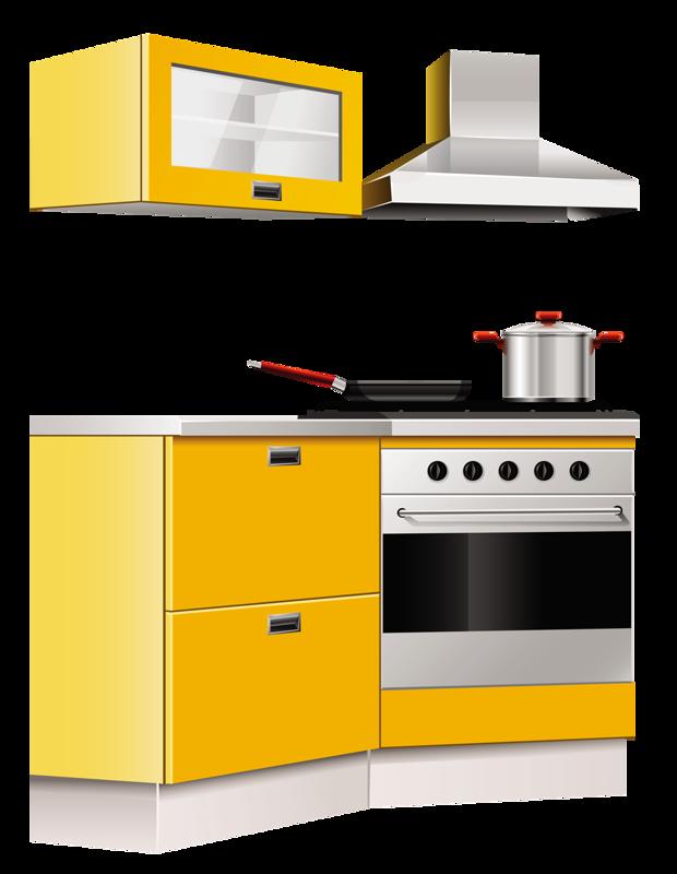 Furniture png pinterest clip. Kitchen clipart kitchen area
