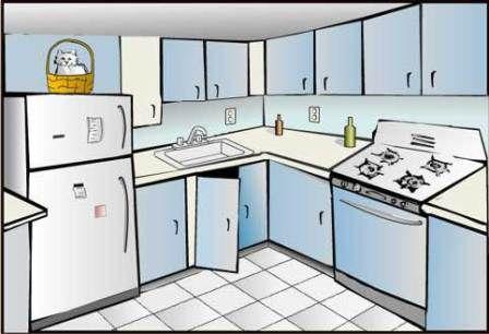 Clip art organization . Kitchen clipart kitchen layout