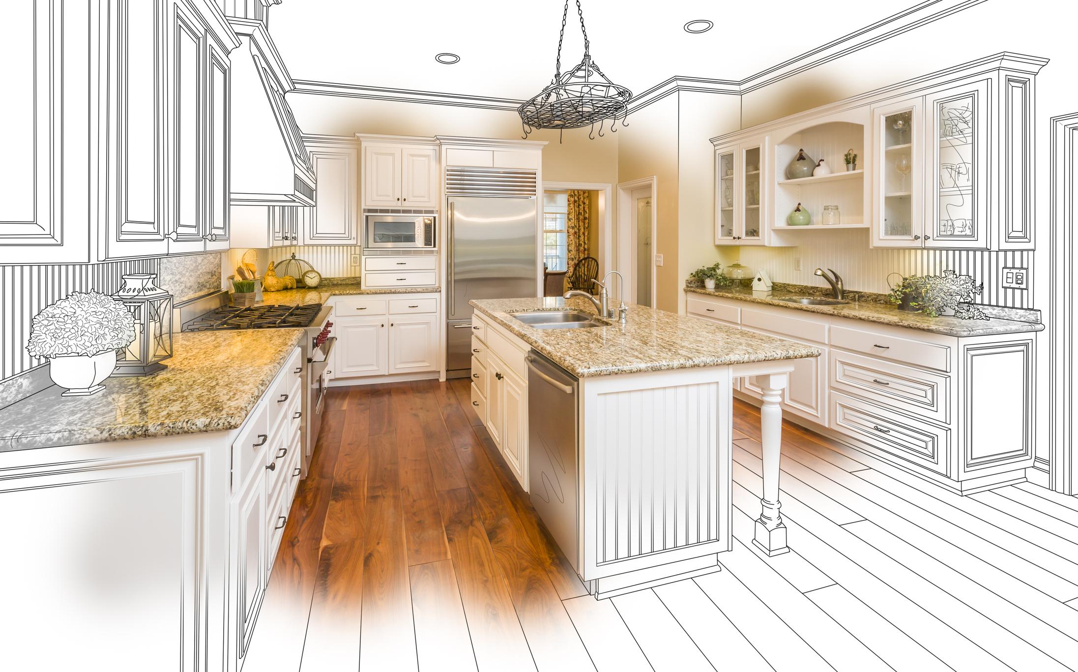 Kitchen clipart kitchen remodel. Brighten up your in