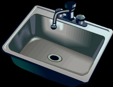 clipart kitchen kitchen sink
