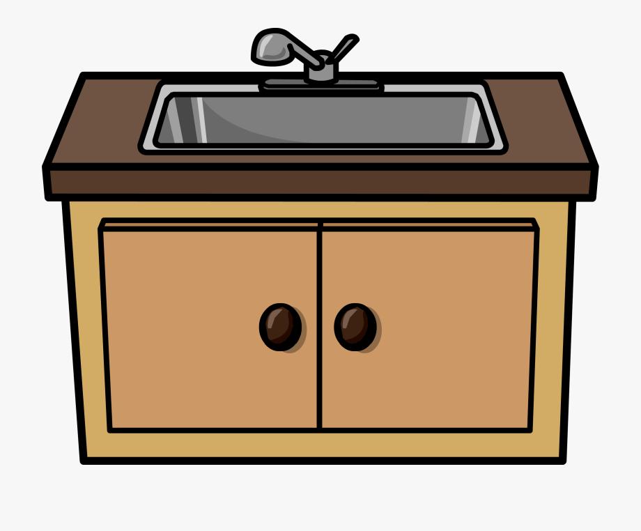 Clip art free . Clipart kitchen kitchen sink