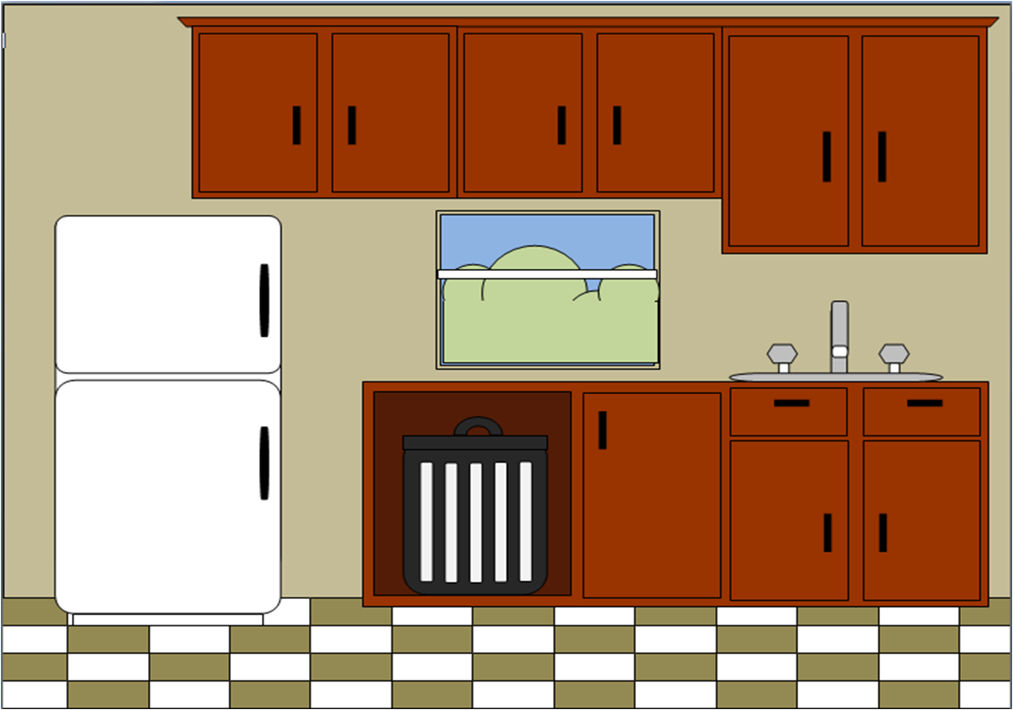 Clipart kitchen kitchenette.  awesome backsplash ideas
