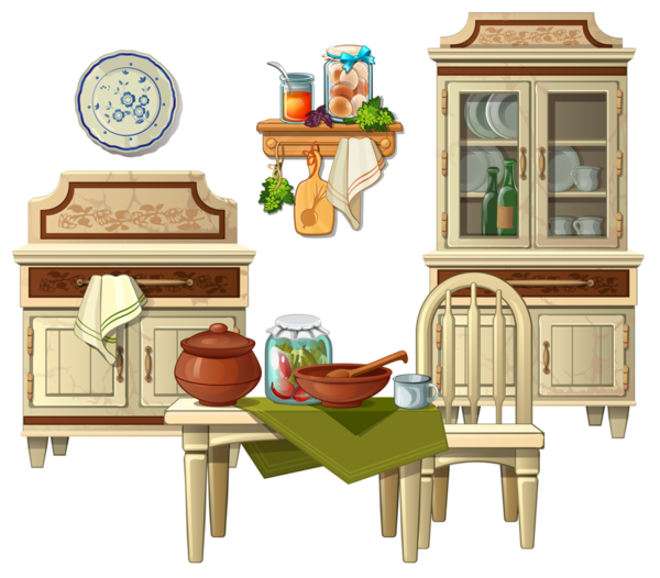 Cuisine meble pinterest. Clipart kitchen kitchenette