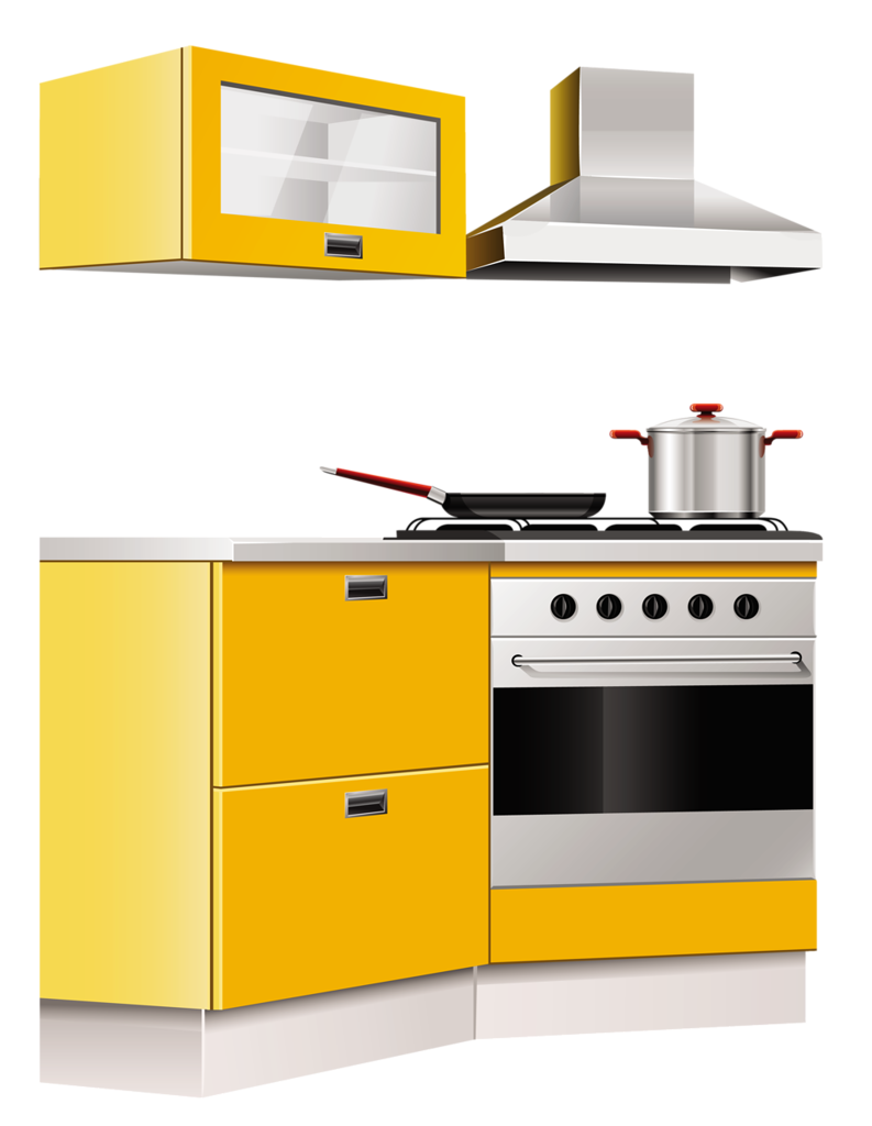 Oven clipart kitchen furniture. Png pinterest clip art