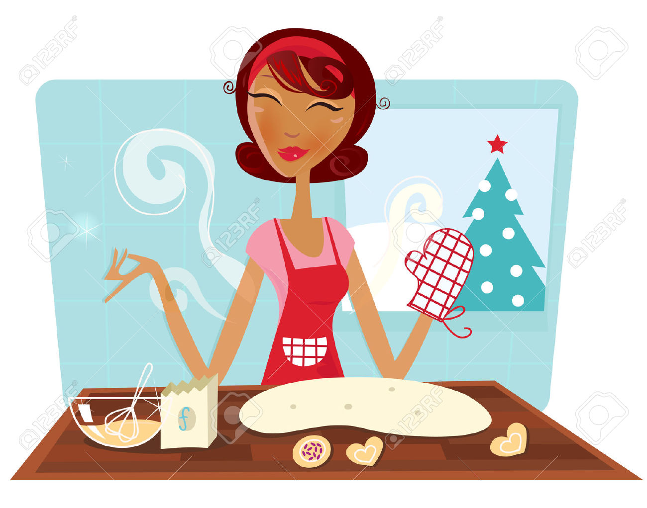 Free mom cliparts download. Clipart kitchen mother