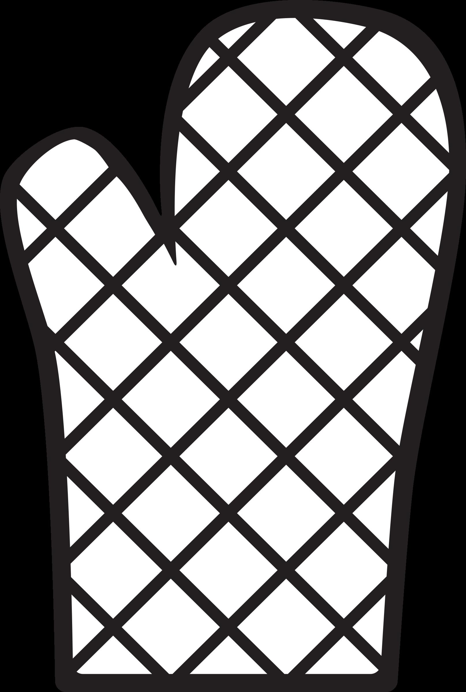 Icon oven mitt big. Gloves clipart kitchen glove