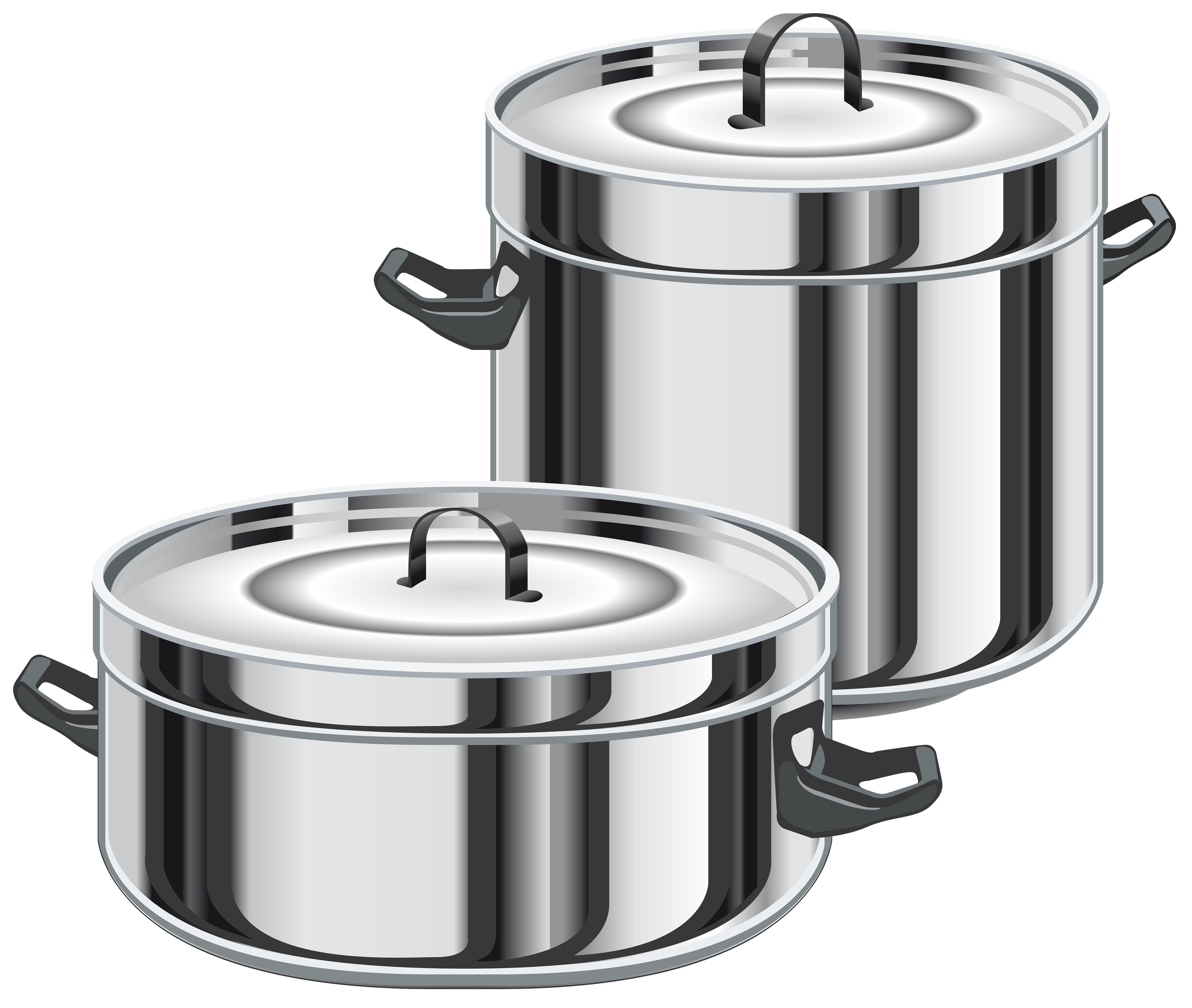 Top Pot Lineart By Frankes Cooking Clipart Black And - Pot Black And White  Clipart - Free Transparent PNG Clipart Images Download
