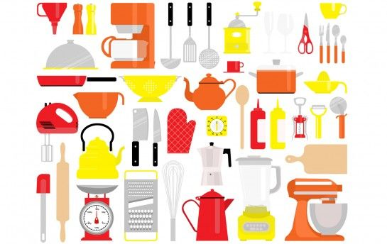 Clipart kitchen pattern. Aline hd recipes to