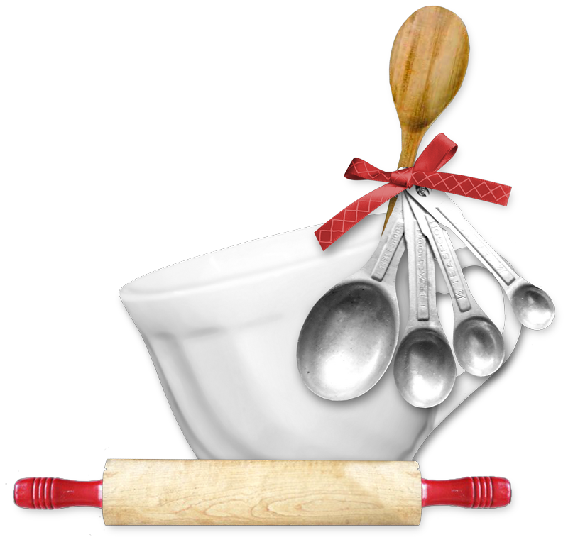 Sqs rb cup cluster. Kitchen clipart rolling pin
