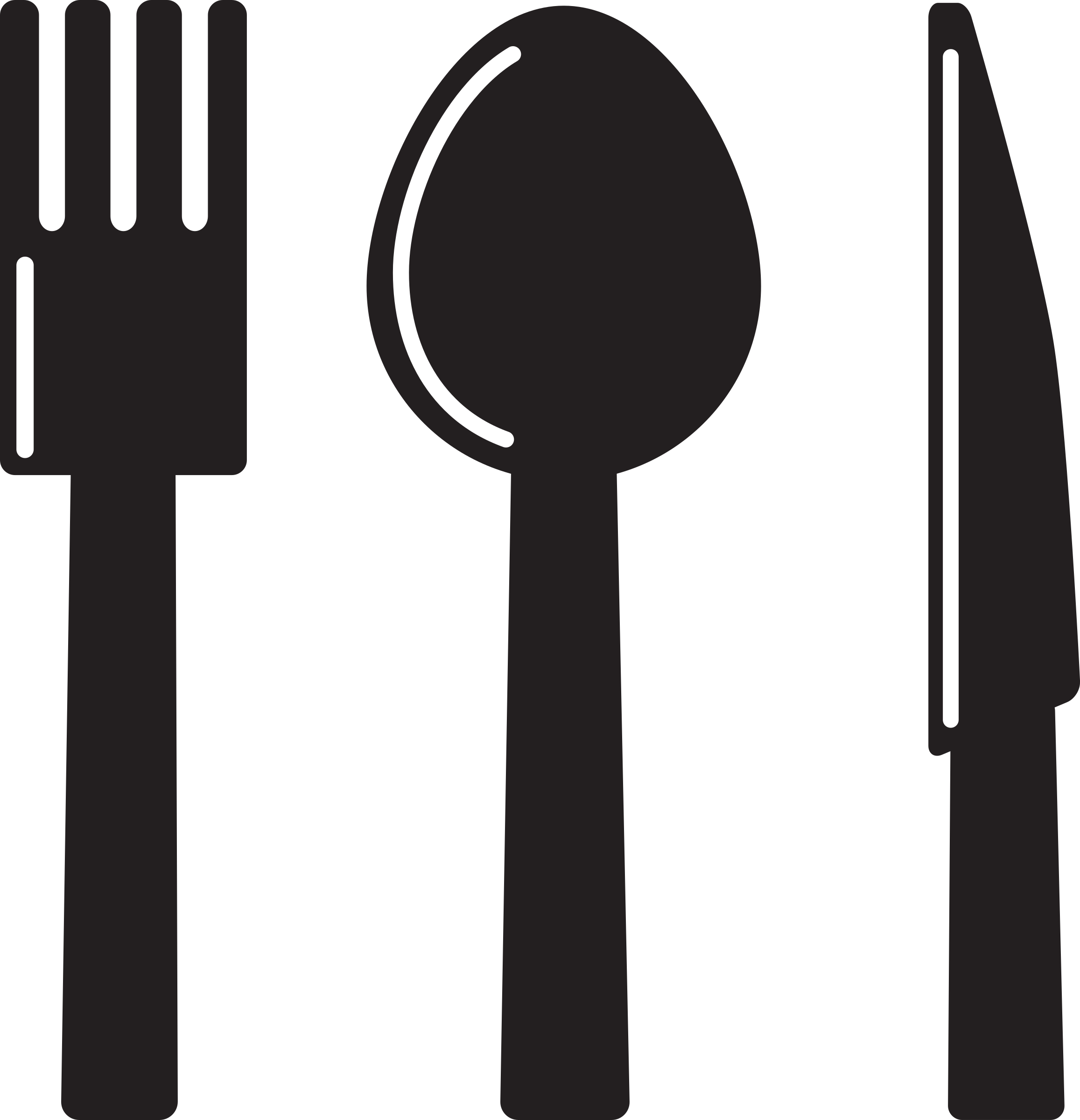 Kitchen icon spoon big. Knife clipart crossed fork