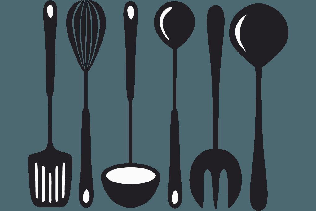 Utensils png . Clipart kitchen spatula