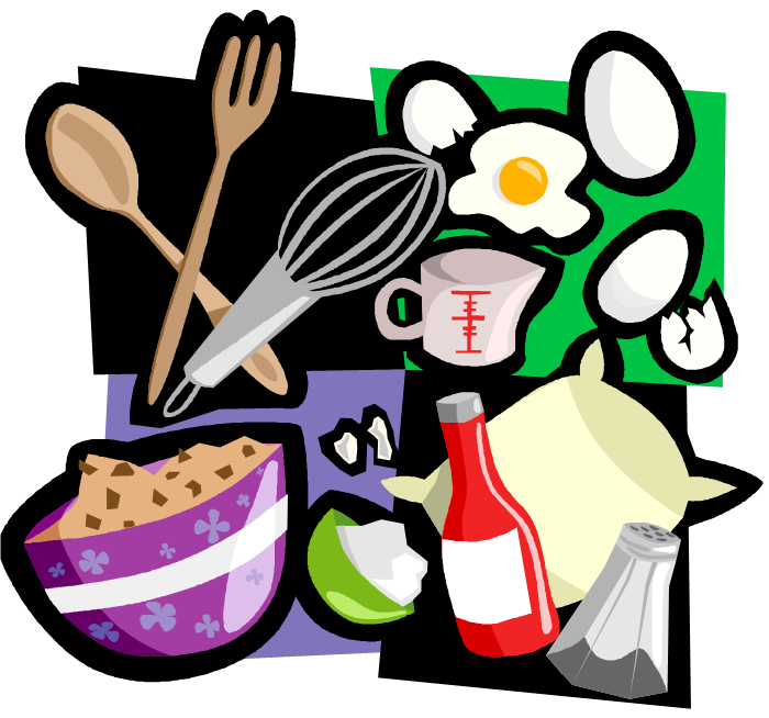 The zone magazine blogs. Cookbook clipart home cooking