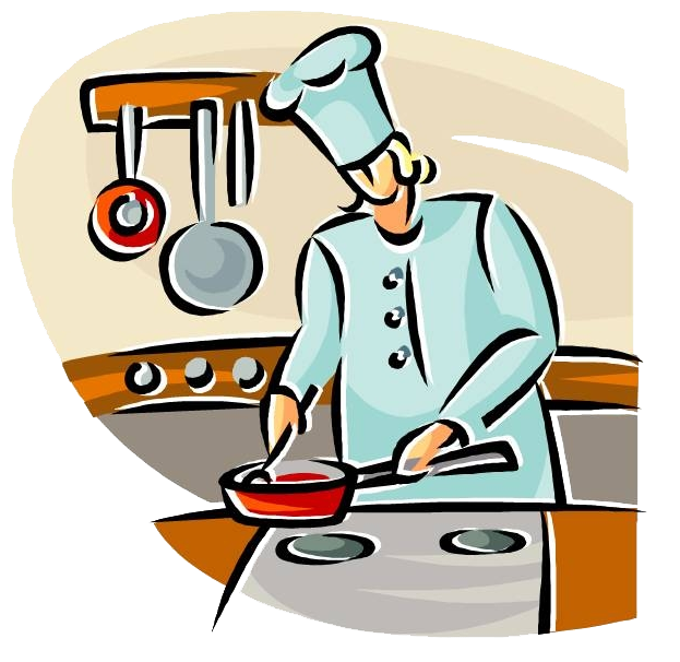 Cook clipart cooking demo.  collection of transparent