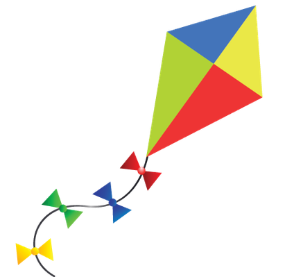 The arts image pbs. Clipart kite