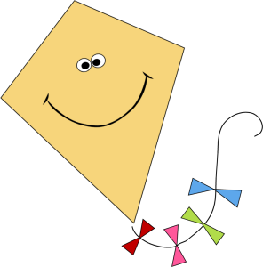 Clipart kite. Clip art images smiling