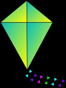 Clip art at clker. Clipart kite