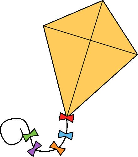 Free preschool clip art. Clipart kite