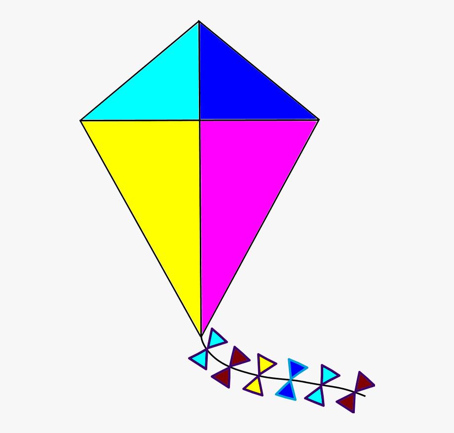 Clipart kite. Clip art image of