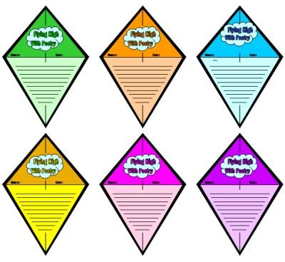 Clipart kite april. Template printable best