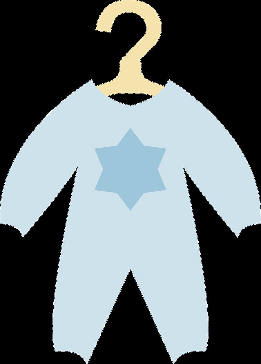 Beb menino e menina. Pajamas clipart baby overalls