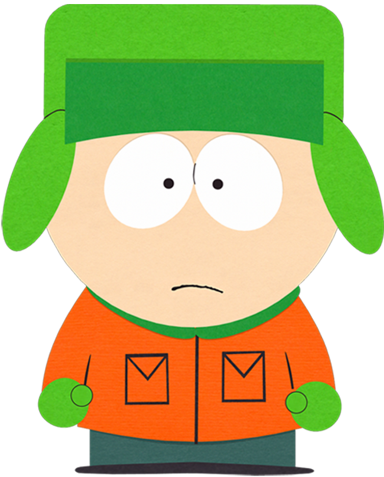 Kyle broflovski south park. Young clipart tall brother