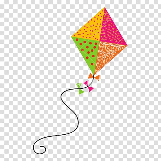 Kite clipart clear background. Yellow pink and green