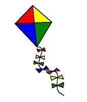 Clipart kite clip art. Images panda free