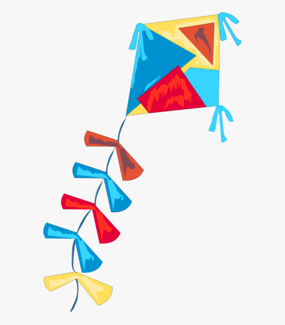 kite clipart cute
