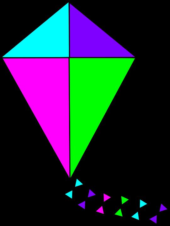 Clipart kite diamond. Download free clip art