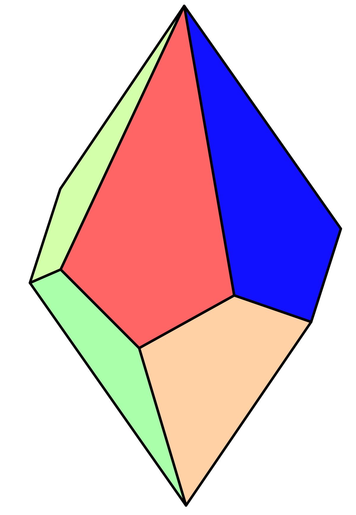 Trapezohedron wiktionary . Clipart shapes elegant