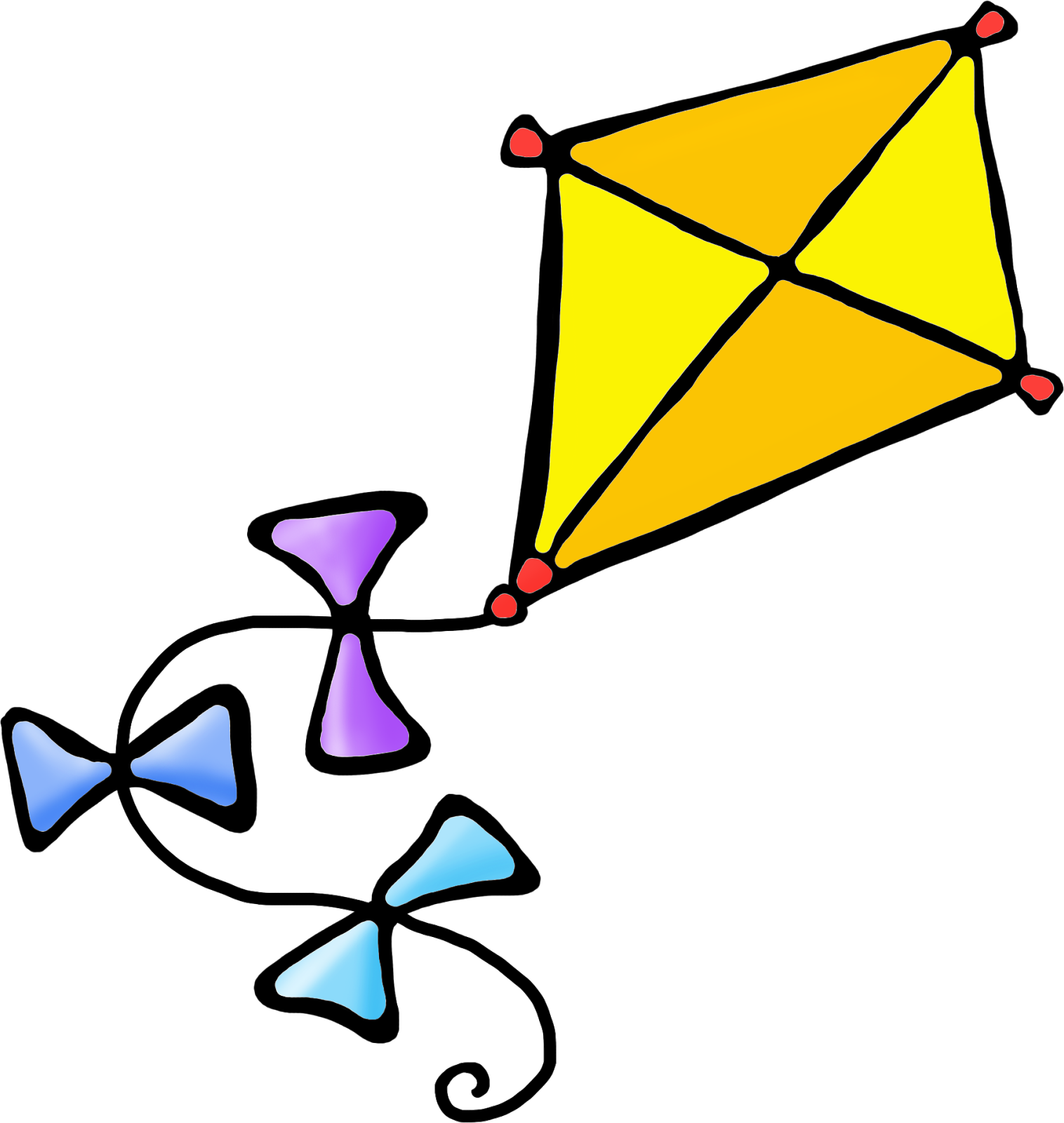 Clipart kite digital. Bold and modern march