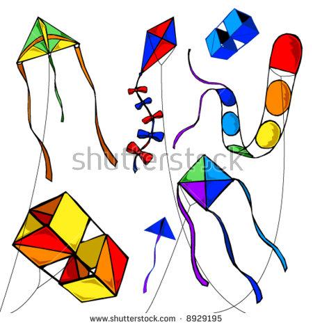 Kites free download best. Clipart kite five