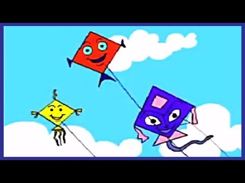Kites nursery rhymes by. Clipart kite flying high