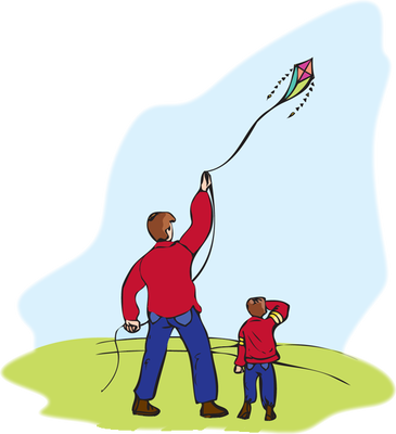 Kites clip art with. Clipart kite flying high
