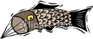 Fish royalty free picture. Clipart kite kite chinese