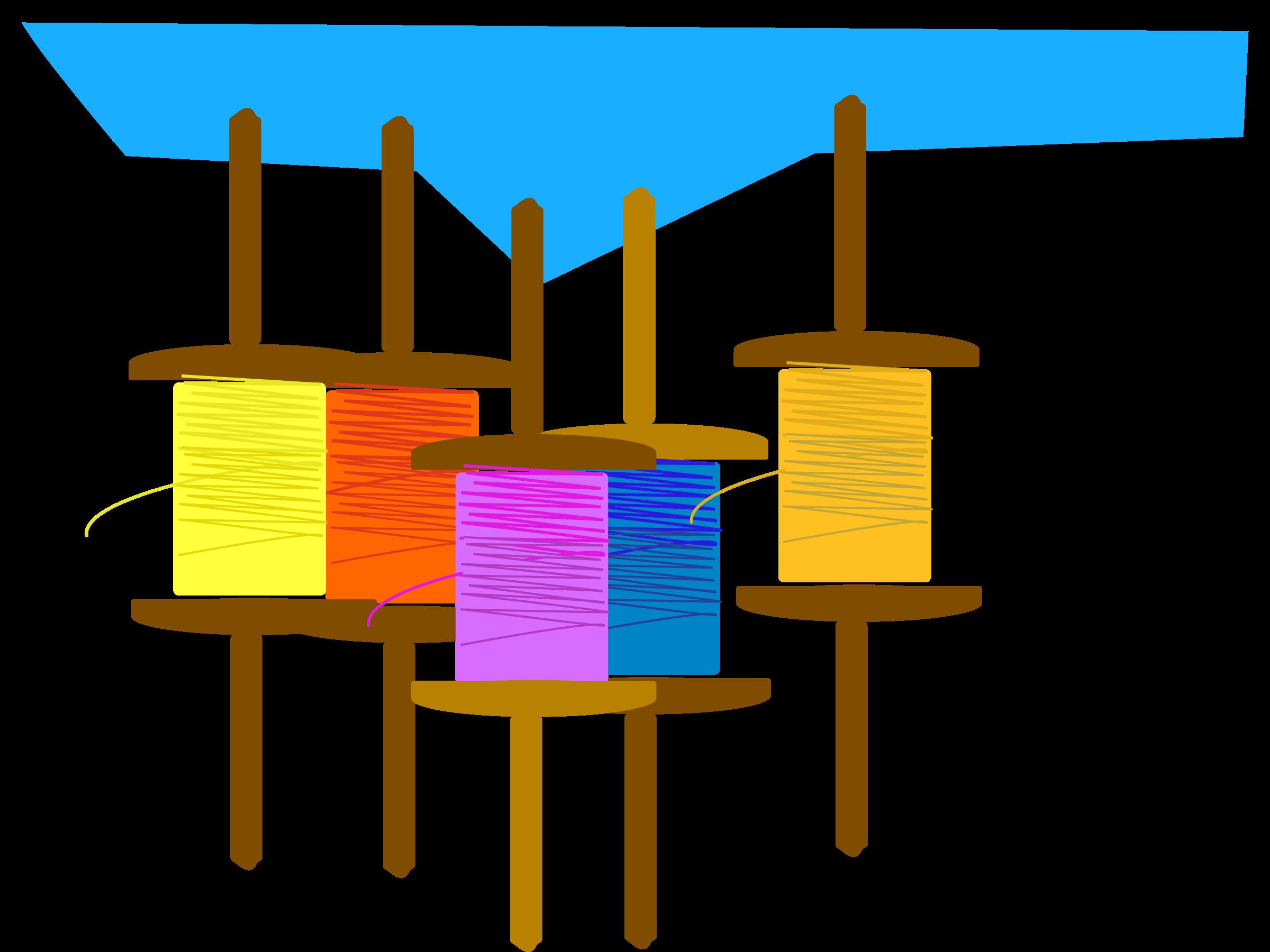 clipart kite kite thread
