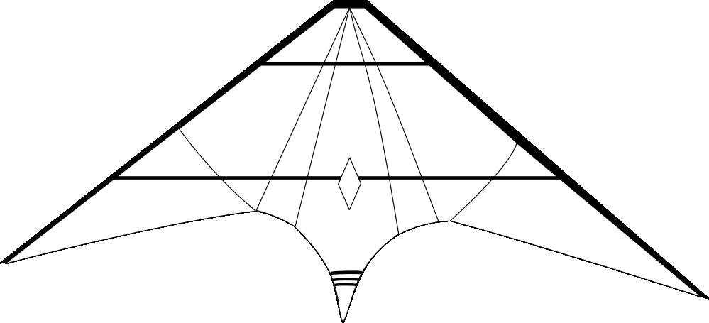 Clipartist net clip art. White clipart kite