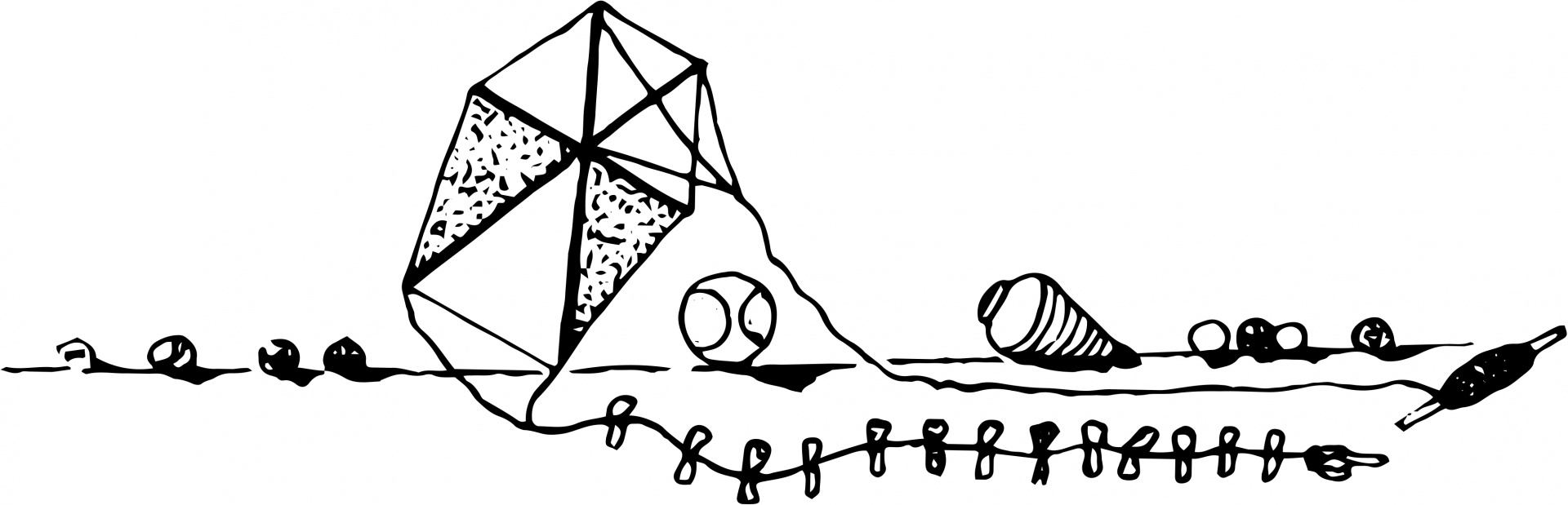 Clip art graphic illustration. Kite clipart old
