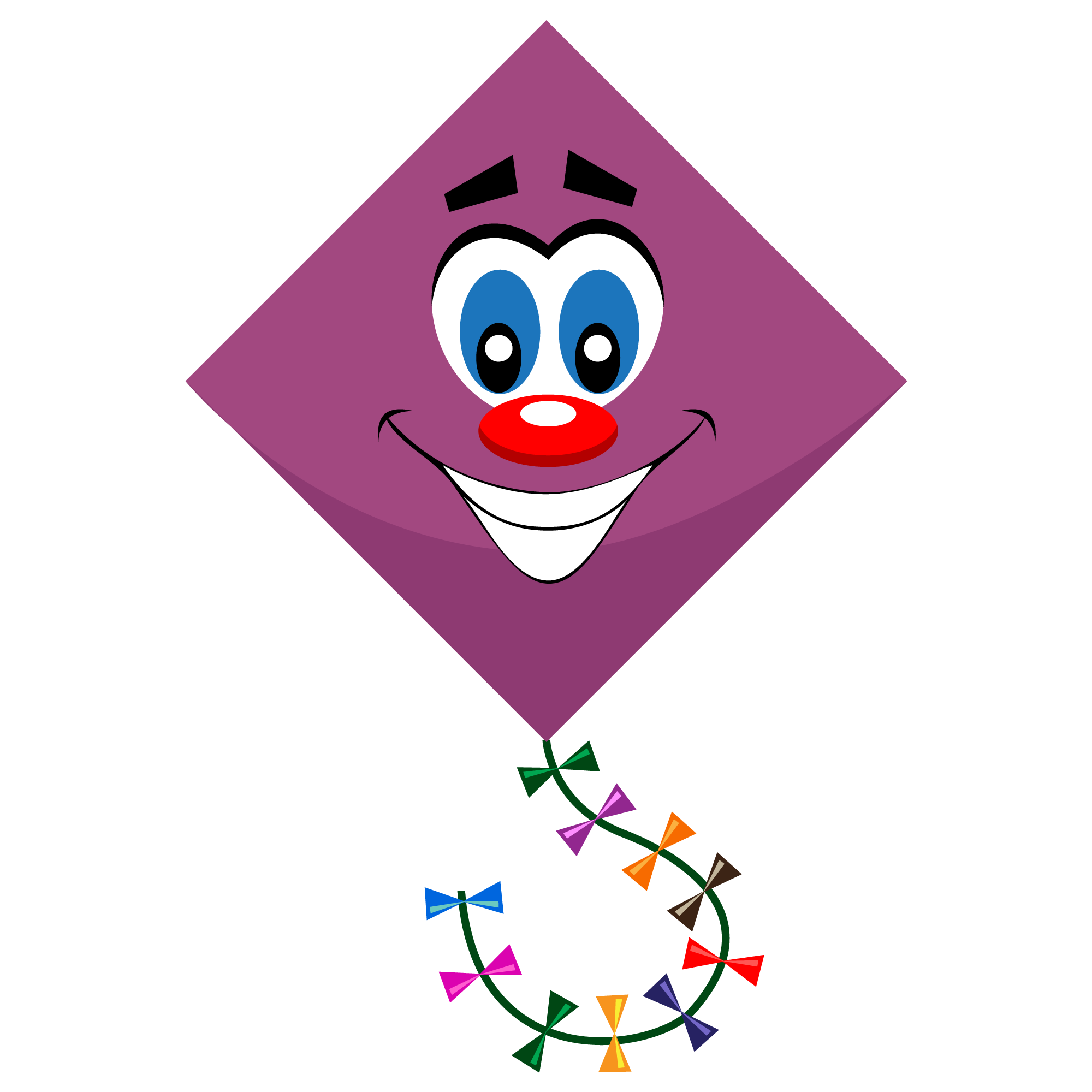 Best online graphics and. Kite clipart purple