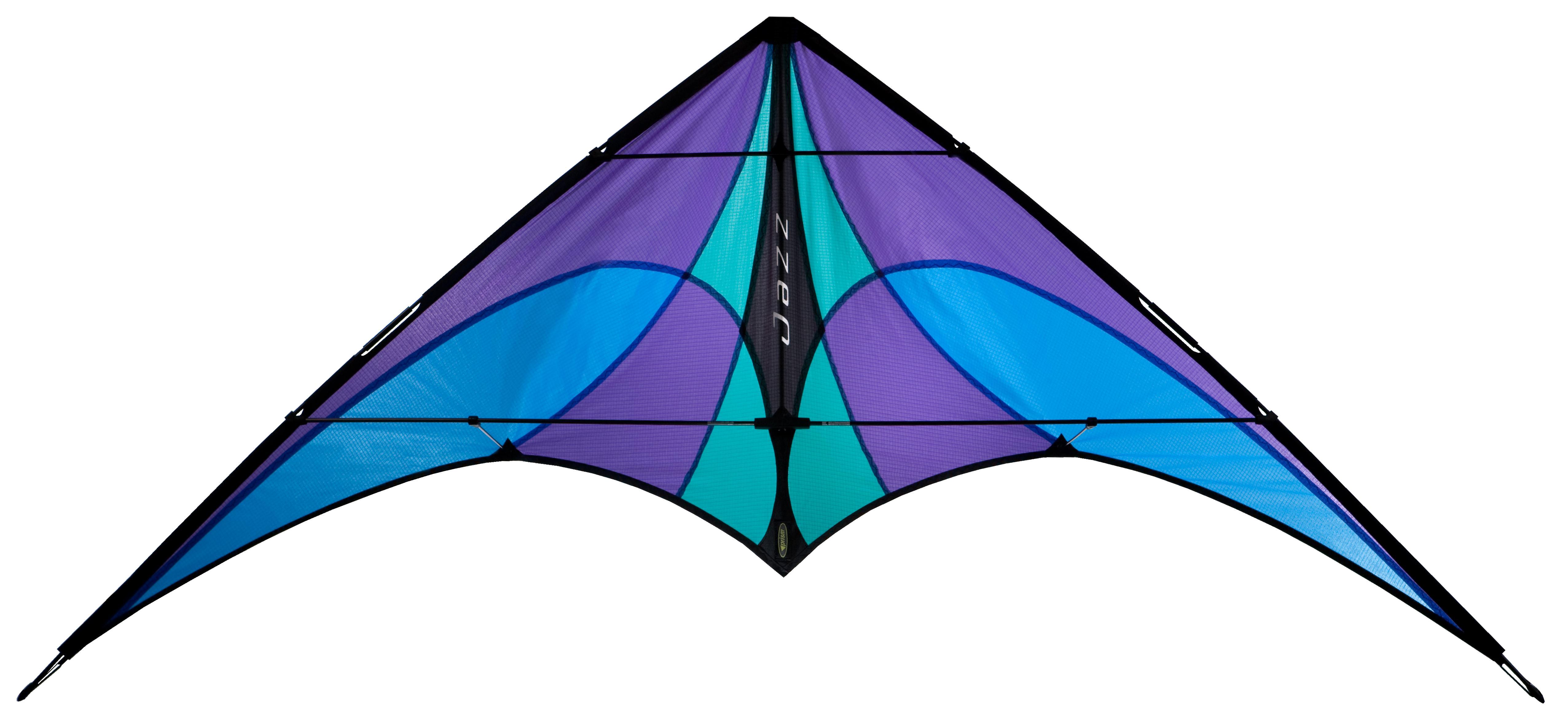 Prism jazz stunt ice. Kite clipart purple