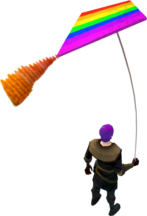 Image equipped png runescape. Clipart rainbow kite