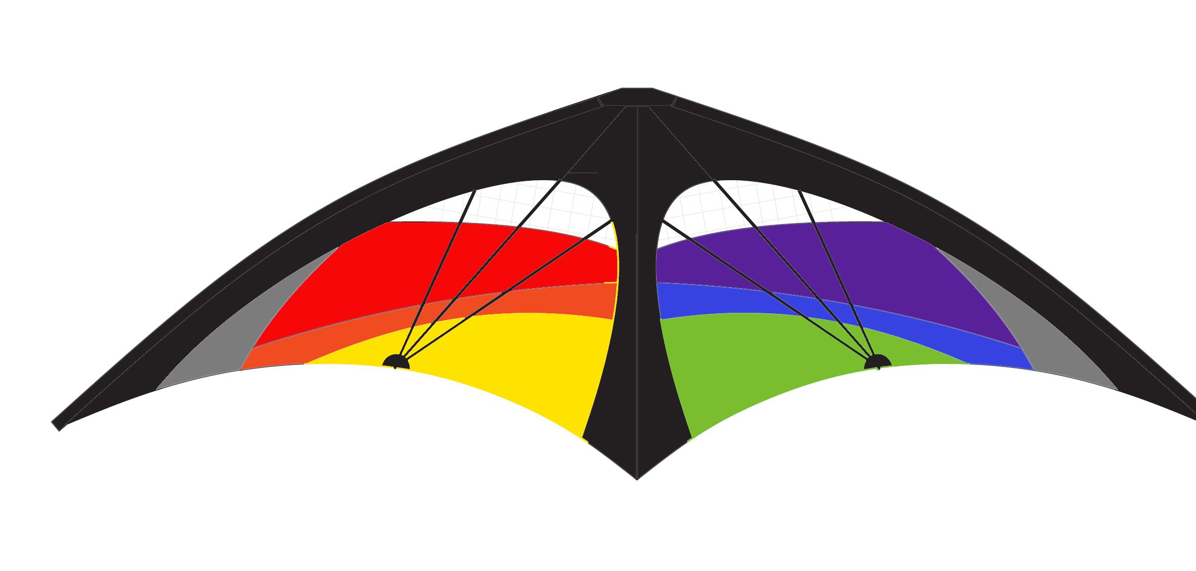 Kl phantom stunt shop. Clipart rainbow kite