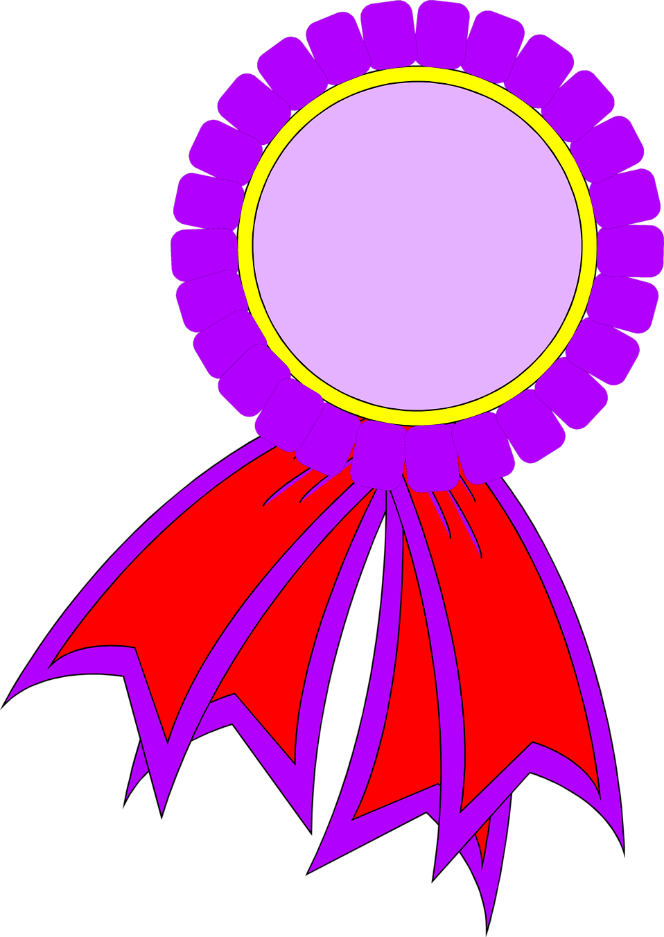 Purple clipart medal. Ribbon clip arts certificate