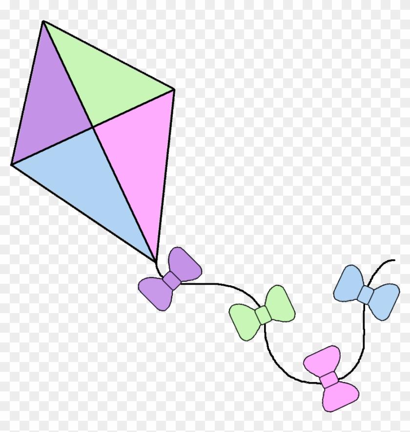 Clipart kite spring. Kites borders free