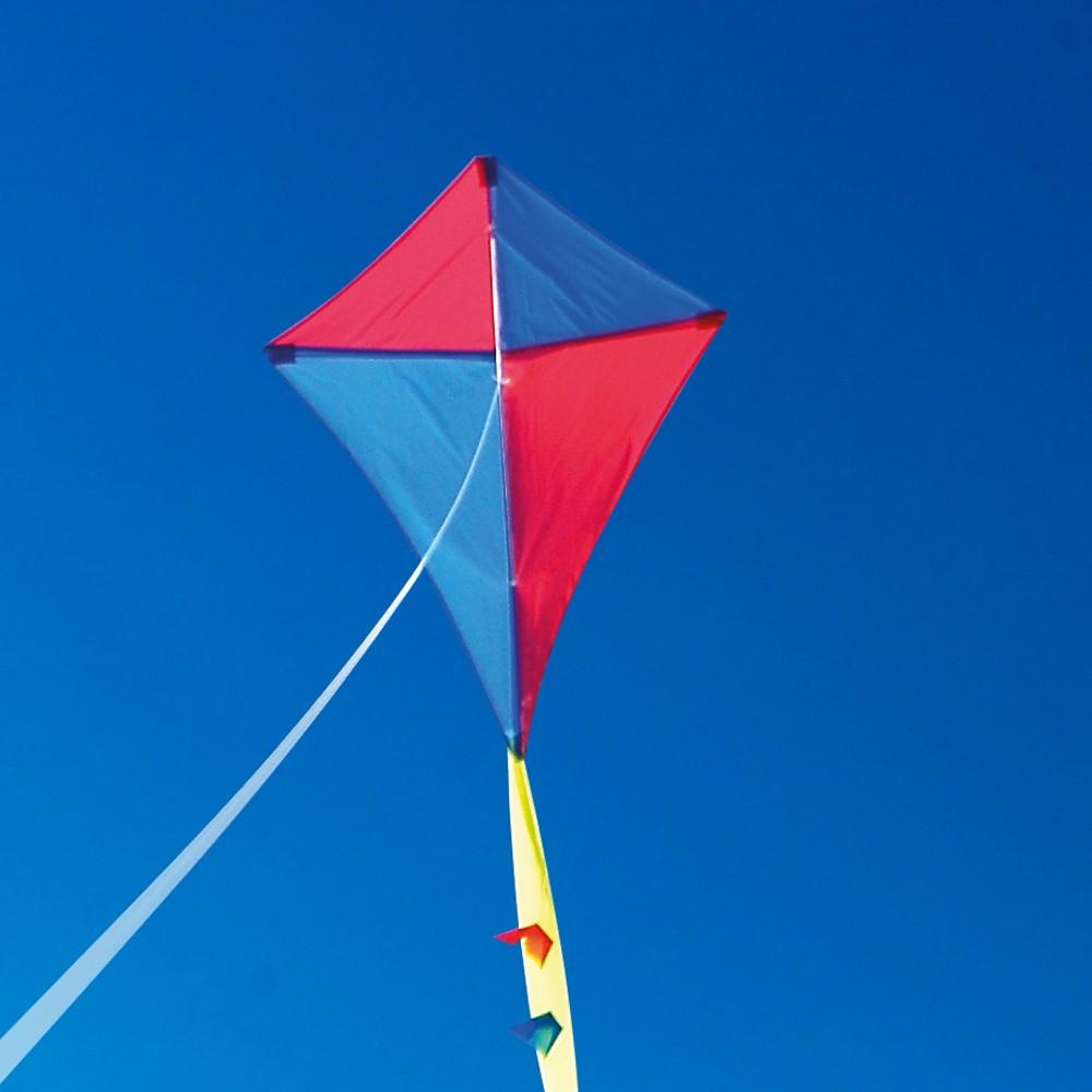 Harlequin kites single line. Clipart kite traditional