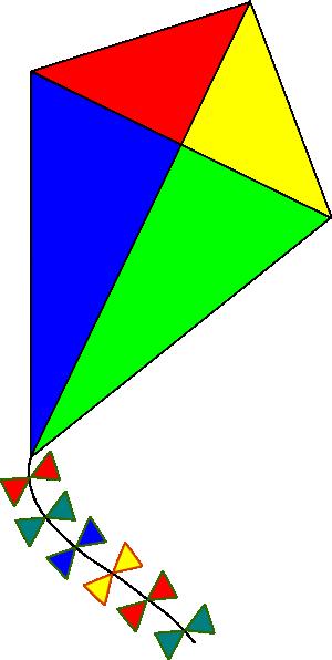 Kiteclipart clip art vector. Clipart kite traditional