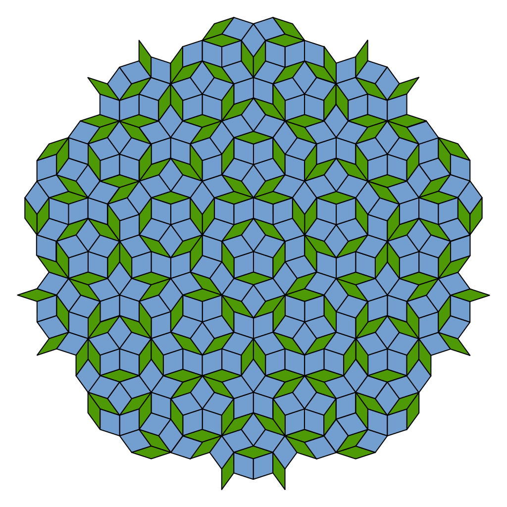 Penrose tiling wikipedia. Markers clipart movie