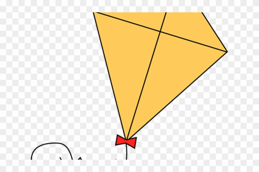 Triangle hd png download. Kite clipart yellow
