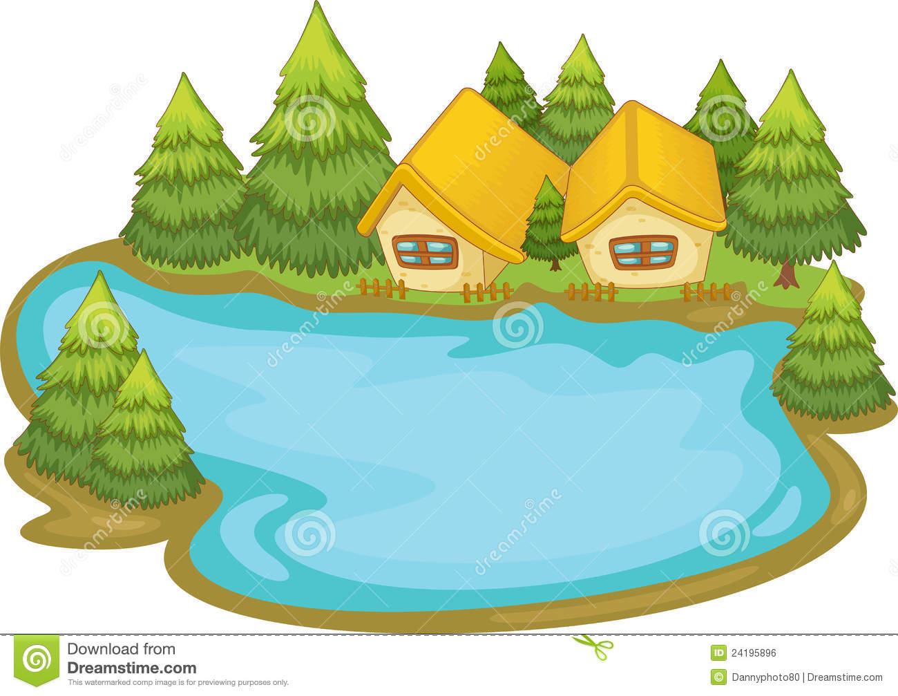 Lake clipart cartoon.  clip art clipartlook